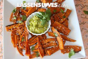 sweet+potato+fries, curry+avocado+dip, guacamole+recipes, guacamole+variations