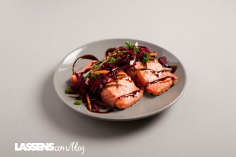 almon, heart+healthy, salmon+recipes, Omega+3s, beet+slaw, healthy+beets
