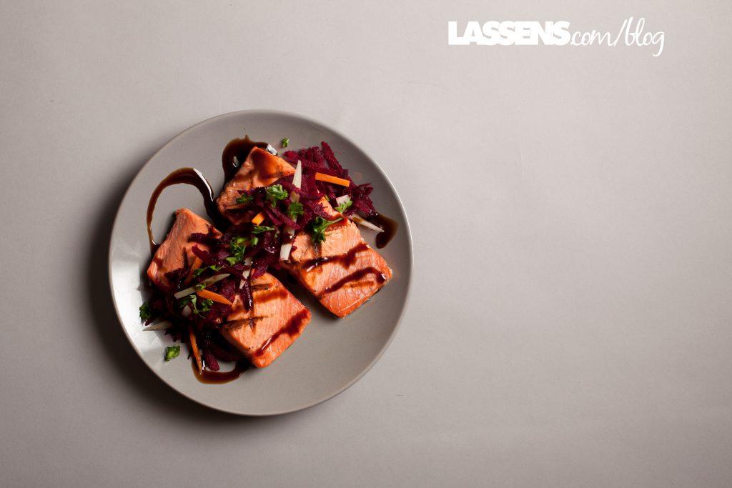 heart+healthy, salmon+recipes, Omega+3s, beet+slaw, healthy+beets