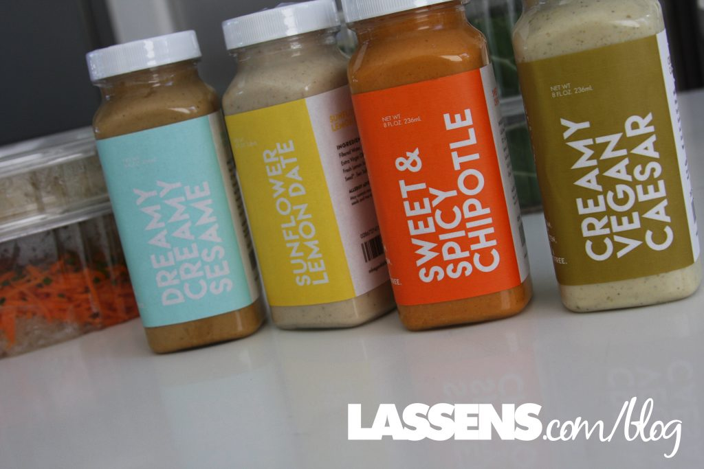Margeaux+and+Lindas+Vegan+Kitchen, Grab+and+Go, Healthy+food, Raw+food, vegan+dressing