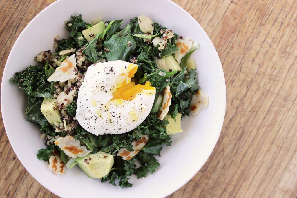 Warm+breakfast+salad, healthy+salad, warm+salad, salad+with+egg,, breakfast+salad