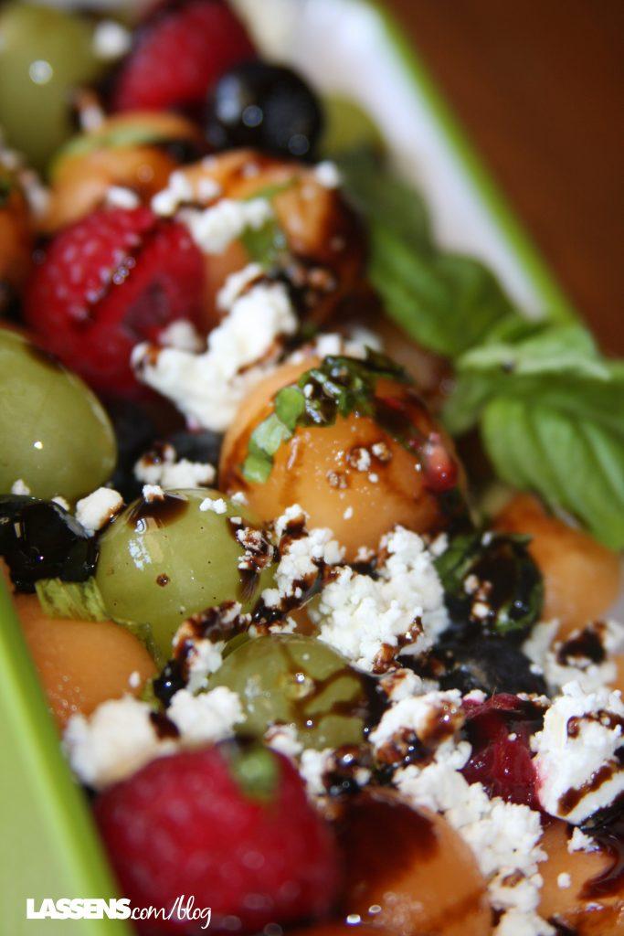 Melon+salad, summer+salad, healthy+fruit+salad, summer+fruit,