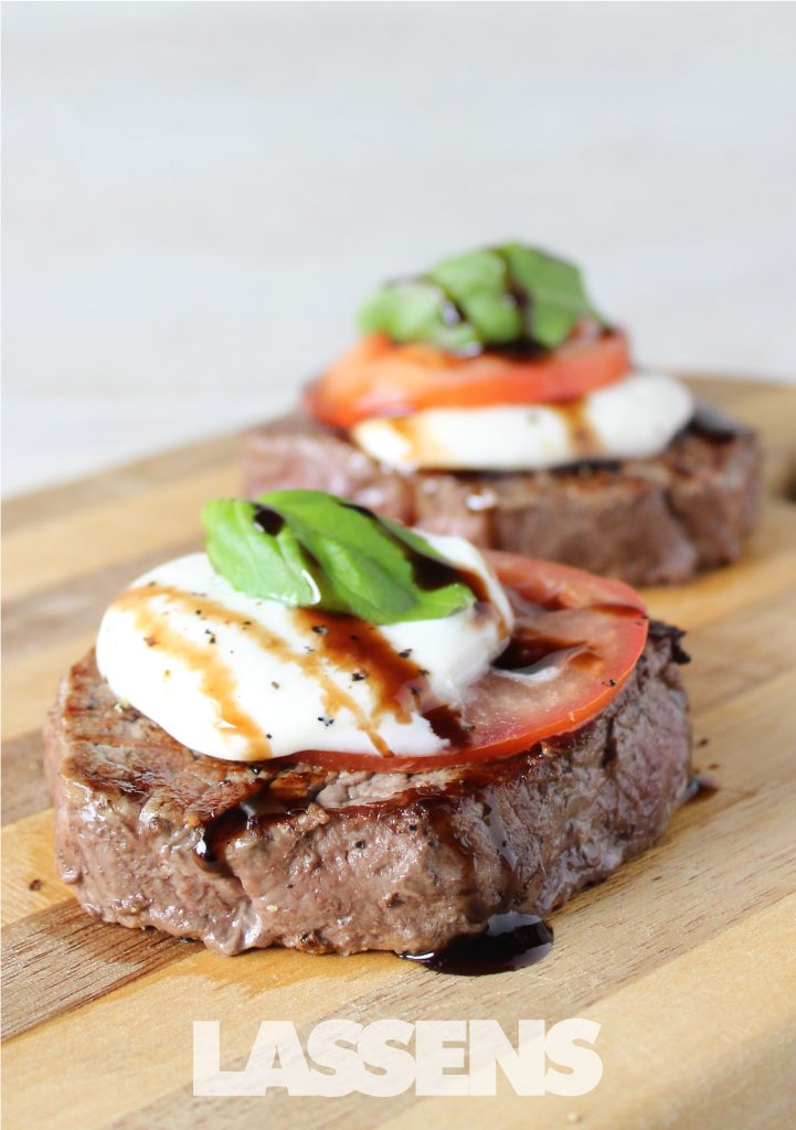 Caprese Grilled Filet Mignon | LASSENS