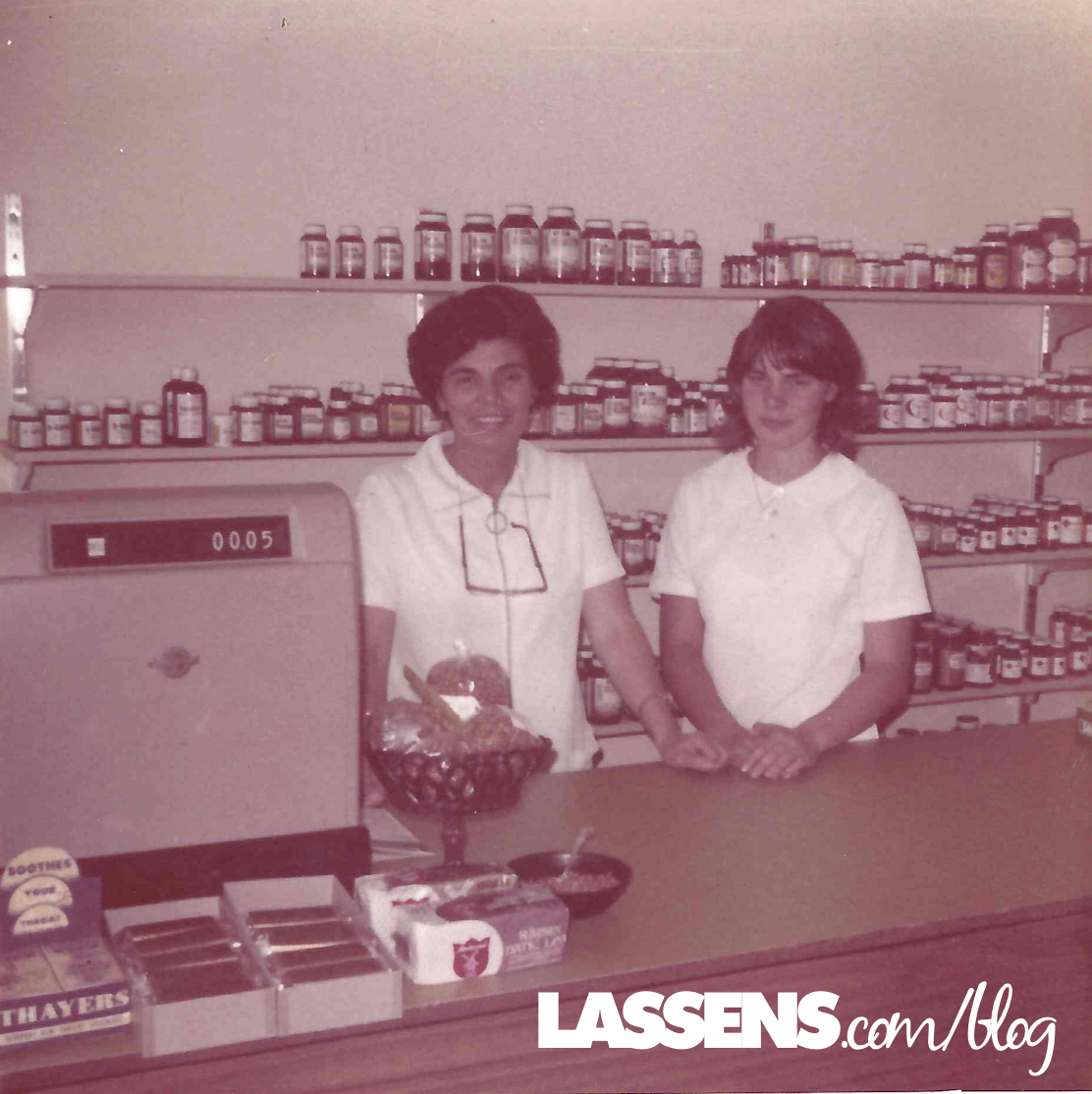 Origin+story, Lassen's+history, lassens+history, Oda+Lassen, Hilmar+Lassen, Lassens+grand+opening, the+best+of+everything+good, we+care+about+your+health