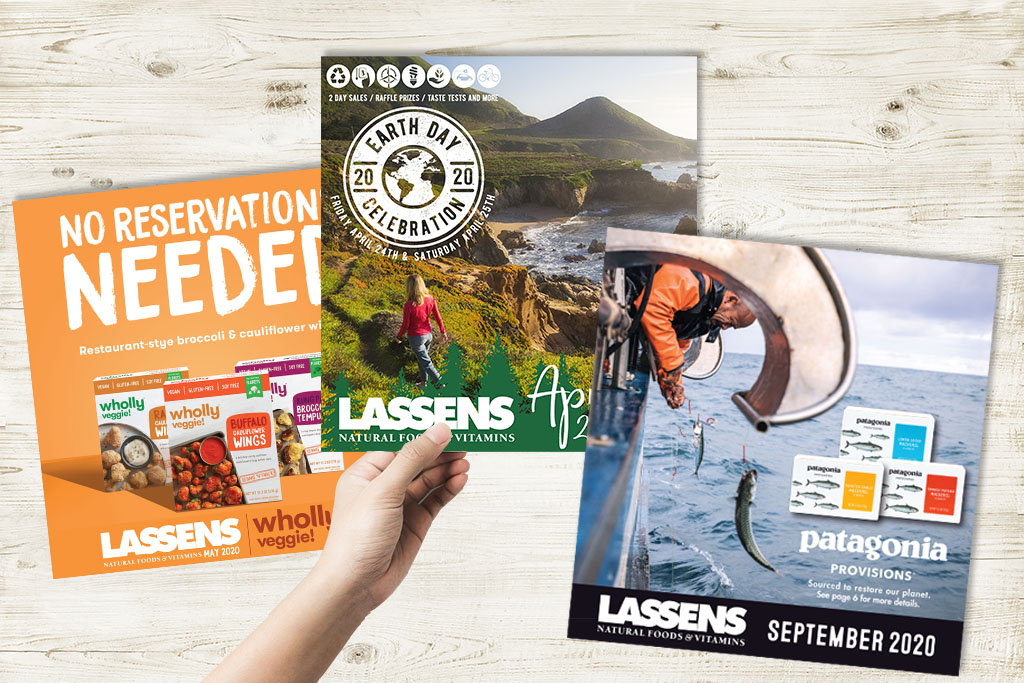 Lassens Monthly Sale Banner - Check out our Monthly Sales